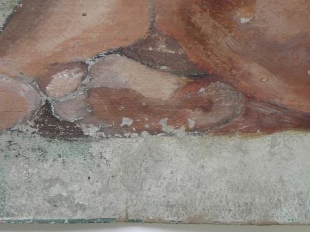 Detalle de Desnudo femenino sin título