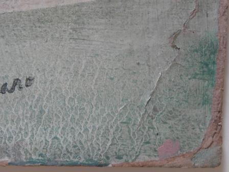 Detalle deterioros Desnudo femenino sin título