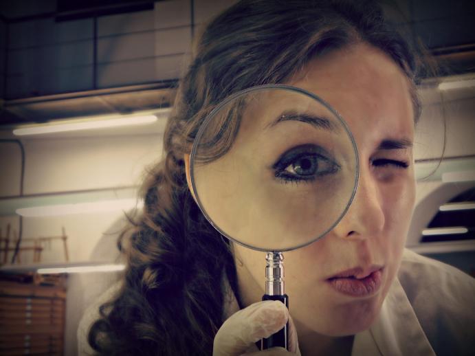 Mirada clínica, ©2014 Irene Merino Mena.