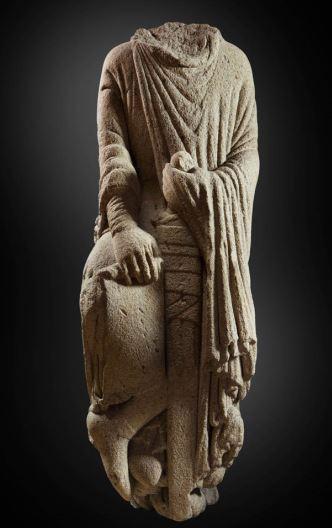 """""""¿Rey bíblico, Fernando II de León o Santiago Miles Christi?"""" (Maestro Mateo, h. 1188 1200) © Madrid, Museo Nacional Del Prado. Disponible en: http://www.museodelprado.es"""